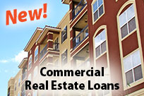 New! Commercial Real Estate Loans!