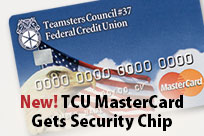 New! TCU MasterCard Gets Security Chip
