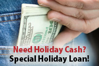 Special Holiday Loan!