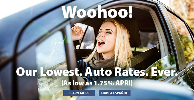 Our Lowest. Auto Rates. Ever.