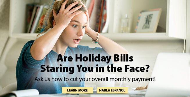 Are Holiday Bills Staring You in the Face?