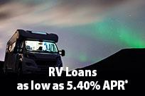 RV Loans as Low as 5.40% APR*