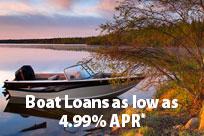 Boat Loans as Low as 4.74% APR*
